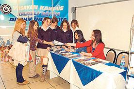 Lise öğrencileri, Üniversite Tanıtım Günü'nde buluştu