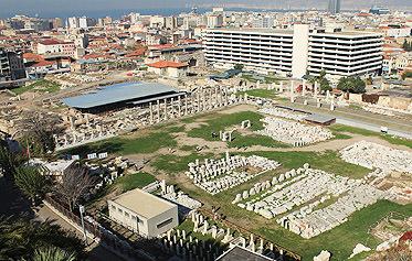 Antik İzmir turistik açıdan Roma'yı sollar