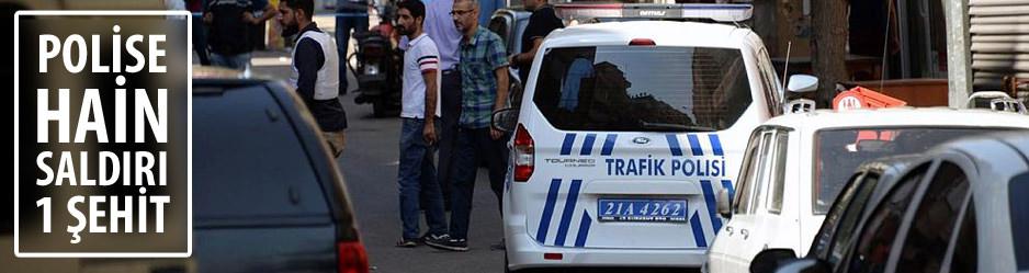 Diyarbakırda 1 Polis şehit oldu