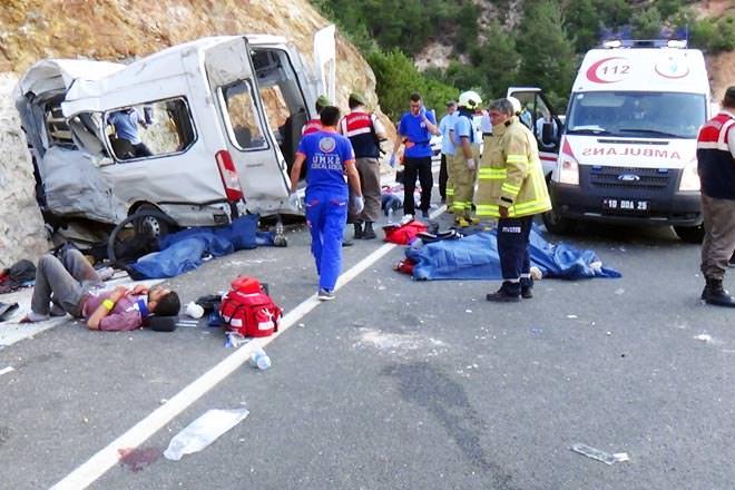 Savaşta değil kazada öldüler