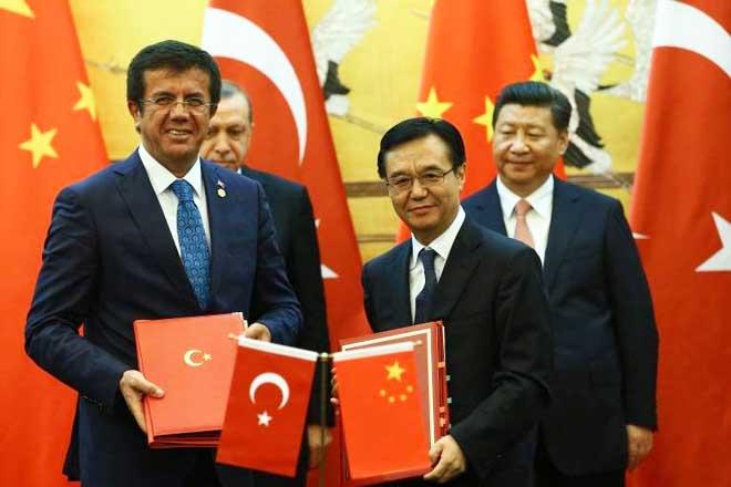 İzmir'e Çin üniversitesi ve Serbest Bölgesi geliyor