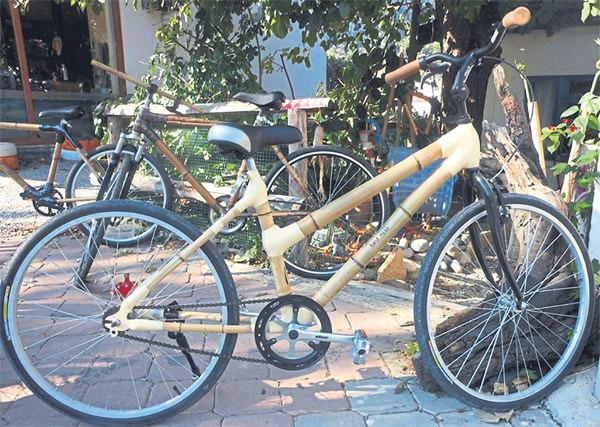 Türkiye'nin ilk bambu BİSİKLETİ