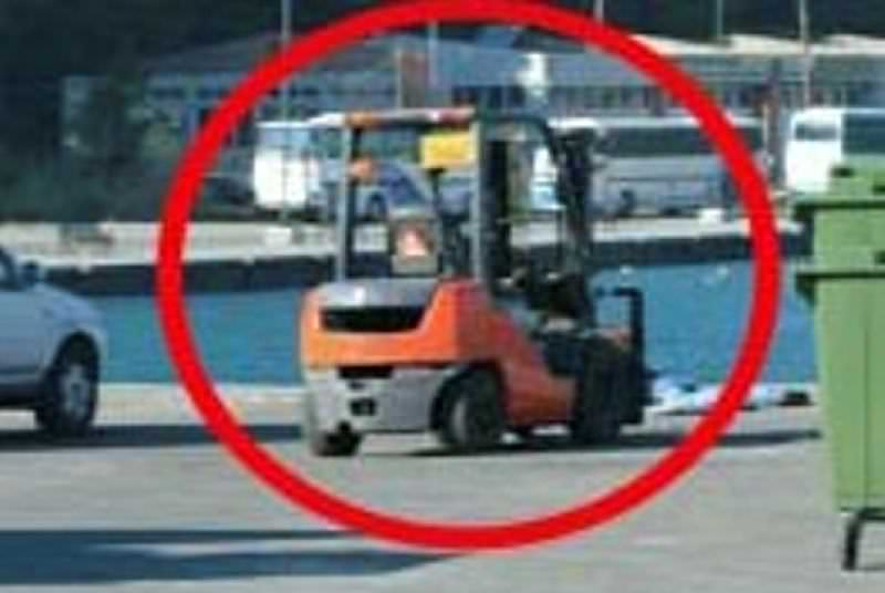 Forklift çarpan Afgan kızı öldü