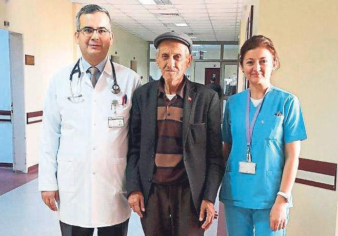 Mucize operasyonla sağlığına kavuştu